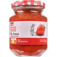 Mermelada de fresa EROSKI basic, frasco 340 g