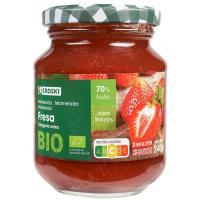 Mermelada bio de fresa EROSKI, frasco 340 g