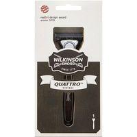 Máquina de afeitar WILKINSON Quattro Vintage, pack 1 ud.