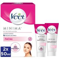 Kit de depilación facial piel normal VEET, pack 1 ud.