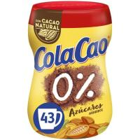 Cacao soluble 0% COLA CAO, bote 325 g