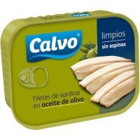 Sardinas en aceite de oliva CALVO, lata 100 g