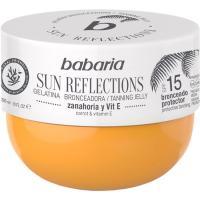 Gelatina de zanahoria SPF15 BABARIA, tarro 300 ml