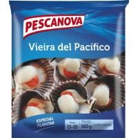 Vieira del Pacífico media concha PESCANOVA, bolsa 500 g