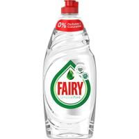 Lavavajillas a mano natural 0% FAIRY, botella 650 ml
