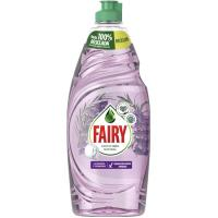 Lavavajillas mano lavanda 0% FAIRY, botella 650 ml
