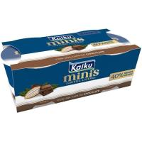 Yogur mini griego ligero de choco KAIKU, pack 2x90 g