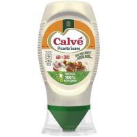 Salsa picante suave CALVE, bocabajo 250 ml