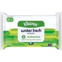 Pañuelo húmedo antibacteria KLEENEX, paquete 40 uds.