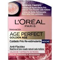 Crema facial de noche golden age L`OREAL, tarro 50 ml