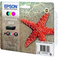 Pack de cartuchos de tinta original, 4 colores 603 EPSON, 1 ud