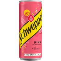 Tónica Pink SCHWEPPES, lata 33 cl