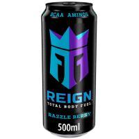 Bebida deportiva con BCAA sabor arándano REIGN, 50 cl.