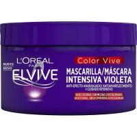 Mascarilla capilar violeta ELVIVE, tarro 250 ml