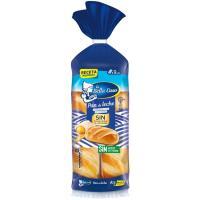 Pan de leche BELLA EASO, 9 uds, paquete 315 g