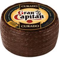 Queso mezcla curado GRAN CAPITÁN, al corte, compra mínima 250 g