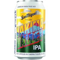 Cerveza Ipa Yakima SAN MIGUEL, lata 33 cl