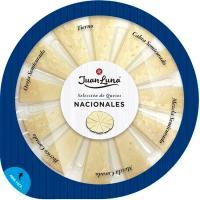 Tabla Nacional 6 quesos JUAN LUNA, bandeja 200 g