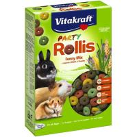 Menú rollis party roedores VITAKRAFT, caja 500 g