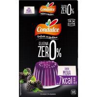 Gelatina zero sabor mora CONDULCE, caja 28 g