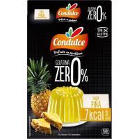 Gelatina zero sabor piña CONDULCE, caja 28 g