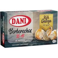 Berberecho rías 35/45 DANI, lata 47 g