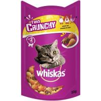 Trio crunchy de aves para gato  WHISKAS, paquete 330 g