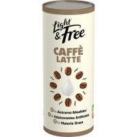 Caffe latte LIGHT&FREE, lata 239 ml
