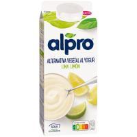 Yogur de lima limón ALPRO, brik 750 g