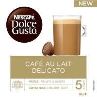 Café delicato con leche intens. 5 DOLCE GUSTO, caja 16 monodosis