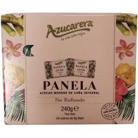 Panela de azúcar de caña integral en sobre AZUCARERA, caja 240 g