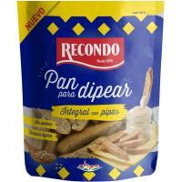 Pan integral con pipas para dipear RECONDO, bolsa 85 g