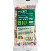 Mix de frutos secos crudos EROSKI BIO, bolsa 100 g