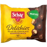 Bolas de chocolate Delishios SCHAR, paquete 37 g