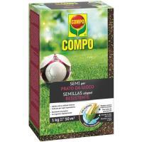 Semillas de céspec resistente COMPO, caja 1 kg