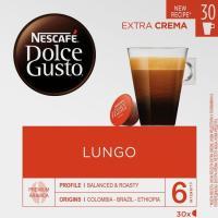 Café Lungo NESCAFÉ Dolce Gusto, caja 16 monodosis