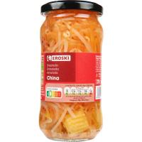 Ensalada China EROSKI, frasco 180 g