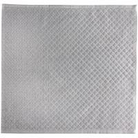 Paños de cocina gris rizo 100% algodón EROSKI, 50x50cm 2 uds