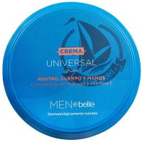 Crema hidratante universal MEN by belle, tarro 100 ml