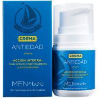 Crema facial antiedad para hombre belle, dosificador 50 ml