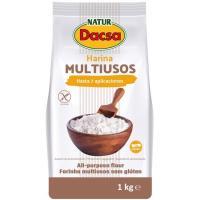 Harina multiusos NATUR DACSA, paquete 1 kg