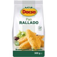Pan rallado NATUR DACSA, paquete 400 g