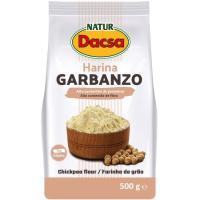 Harina de garbanzos NATUR DACSA, paquete 500 g