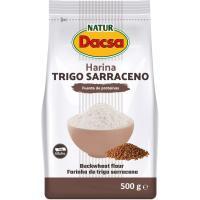 Harina de trigo sarraceno NATUR DACSA, paquete 500 g
