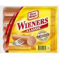 Salchichas Wienner OSCAR MAYER, sobre 200 g