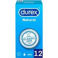 Preservativos natural plus DUREX, caja 12 uds.