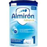Leche en polvo ALMIRÓN Advance 1, lata 800 g