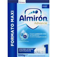 Leche en polvo ALMIRÓN Advance 1, lata 1.200 g