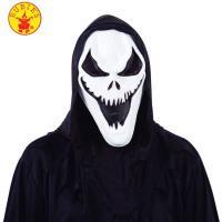 Máscara adultos de Killer Ghos, fantasma, espiritu del mal o alma perdida, 1 ud
