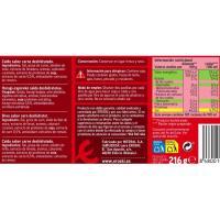Caldo de carne EROSKI,  24 pastillas, caja 216 g